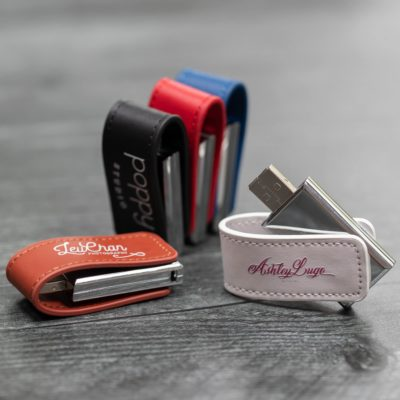Evolution Leather USB Flash Drive