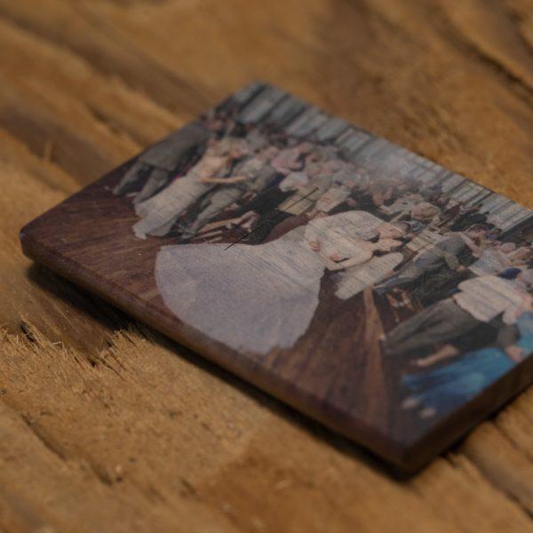 Wood Credit Card USB Flash Drive