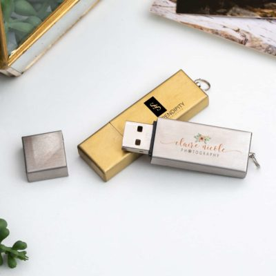 Industrial Metal USB Flash Drive