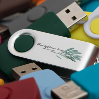 Mix and Match Swivel USB Flash Drive