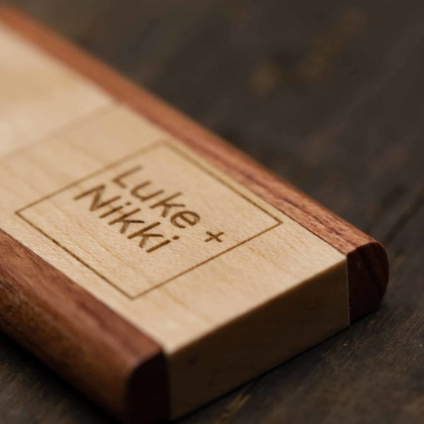 Two Tone Wood USB Flash Drive