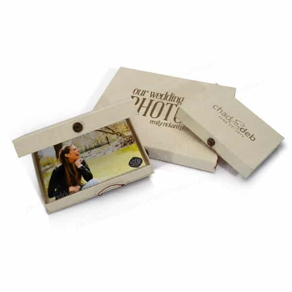 Exotic Paper Print Box Photoflashdrive