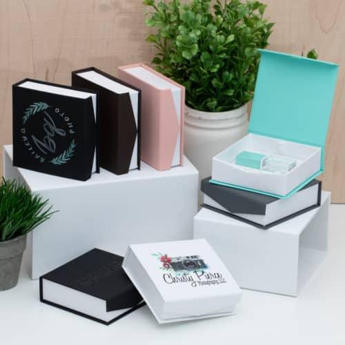 Classic Snap Flash Drive Box