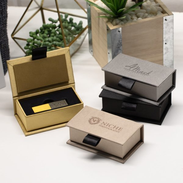 Luxe Flash Drive Box