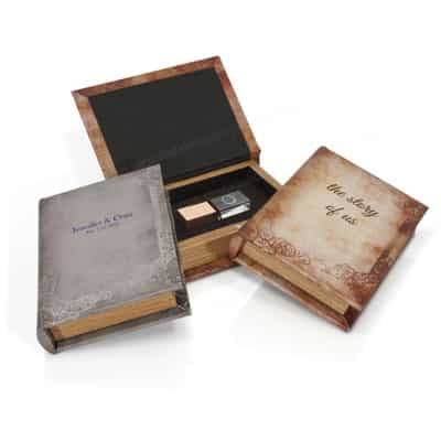 Storybook Flash Drive Box