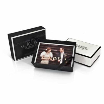 Tailored Linen Photo Box