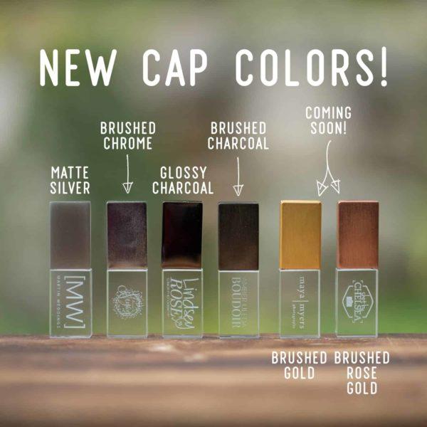 Crystal USB Flash Drive new cap colors