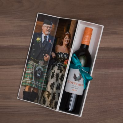 Custom Image Wine Box