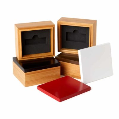Bamboo Flash Drive Box