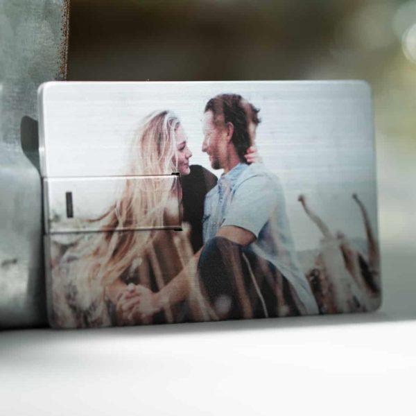 Metallic Credit Card USB Flash Drive
