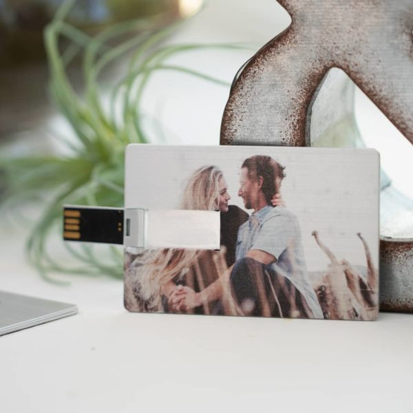 Metallic Credit Card USB Flash Drive