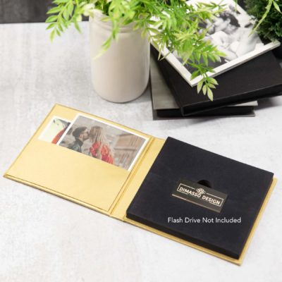 Luxe Dvd Flash Folio