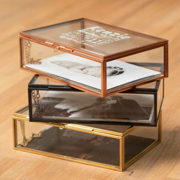 Glass Photo Box