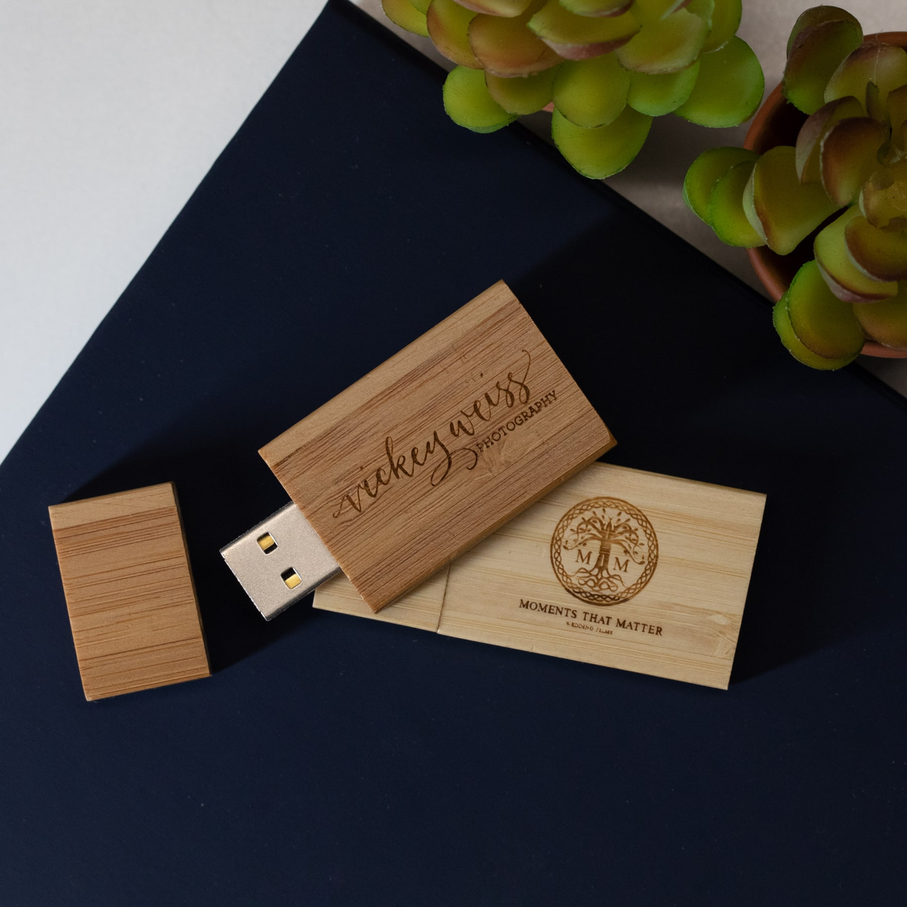 thegymyarraville.com.au Apricot 8Gb Bamboo USB Flash Drive with ...