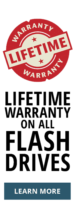 Flash Lifetime Warranty