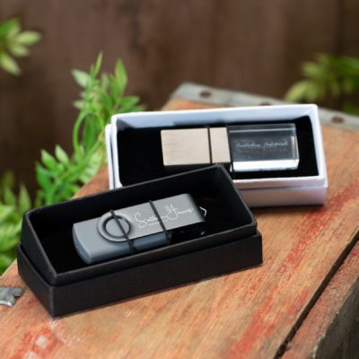small usb flash drive gift box