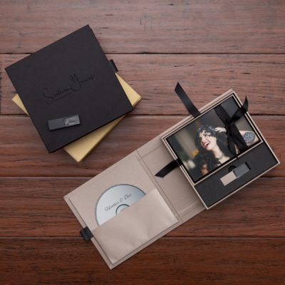 Luxe DVD, Photo + Flash Box