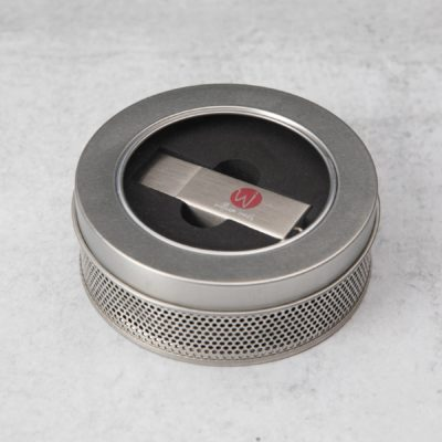 Industrial Metal Drive + Round Tin bundle