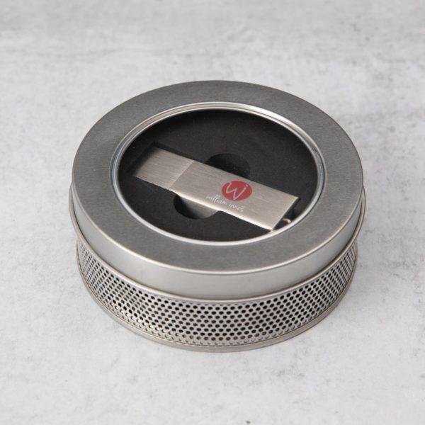 Industrial Metal Drive + Round Tin bundle