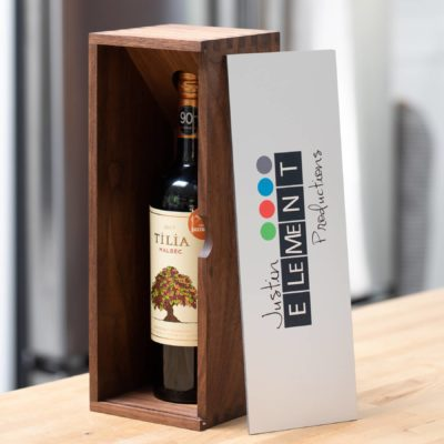 Walnut Wood Wine Box