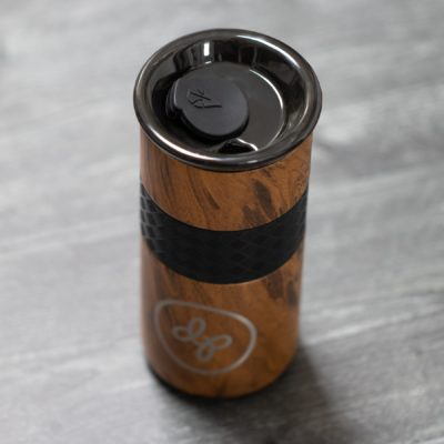 Elemental Teak Insulated Tumbler