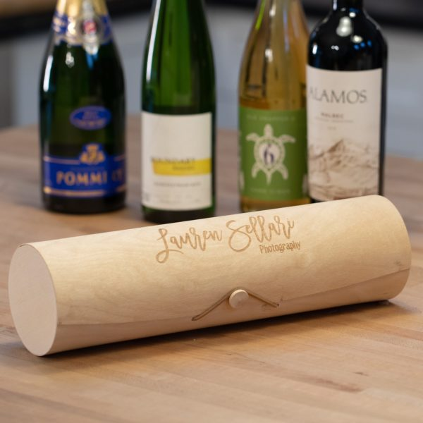 Round Wine Gift Box