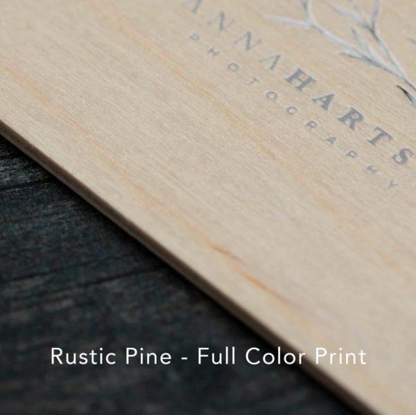 Rustic Pine Full Color