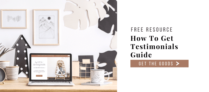 Grab My How To Get Testimonials Guide
