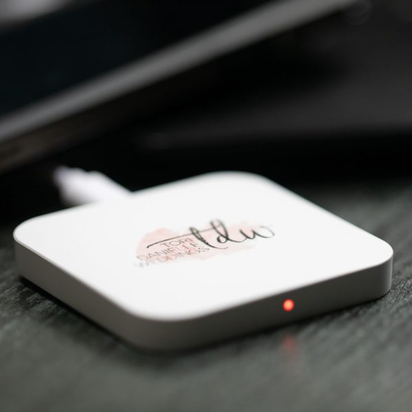 Qi Reflect Square Wireless Charging Pad