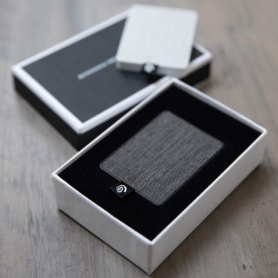 Seagate One Touch + Tailored Linen Box Bundle