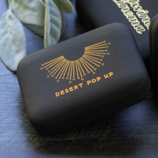 Hard-Shell Flash Drive Box - Foil