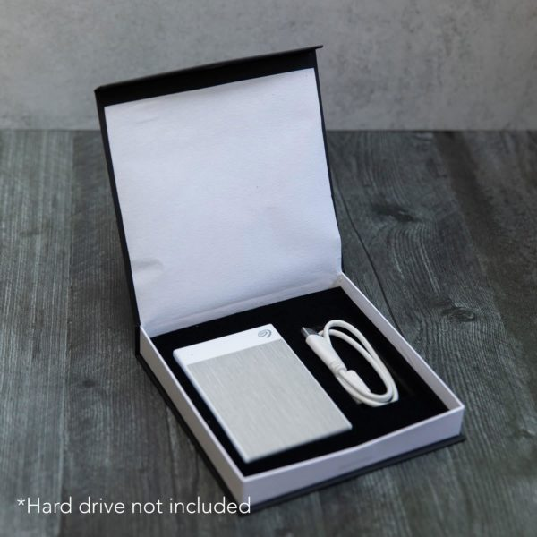 Classic Snap Box For Hard Drive
